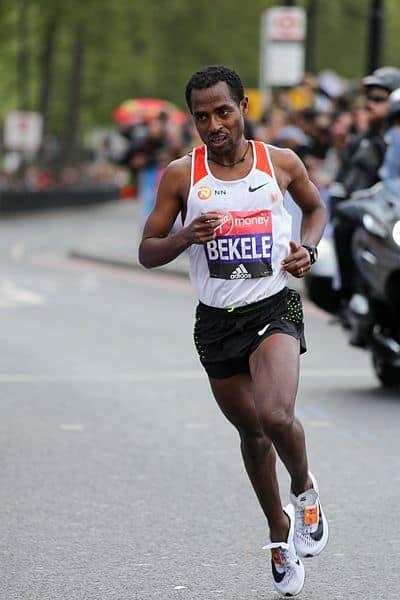 Bekele marathon Londres