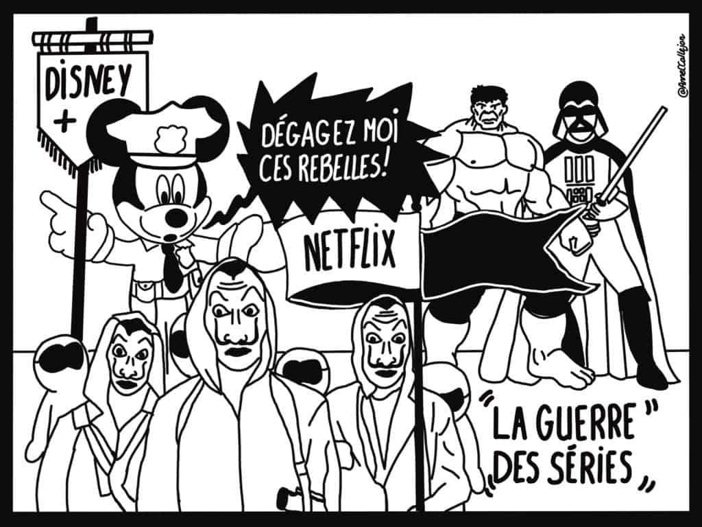 Etonnante Année 2019 : la guerre des séries
