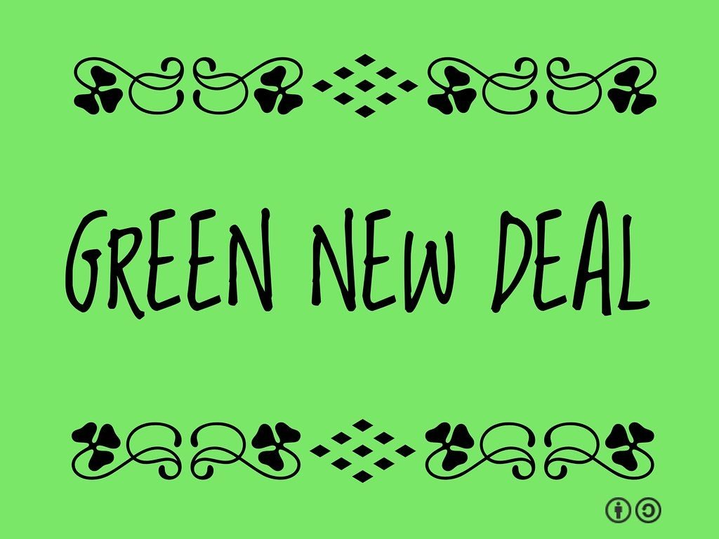 New York ville verte : green new deal