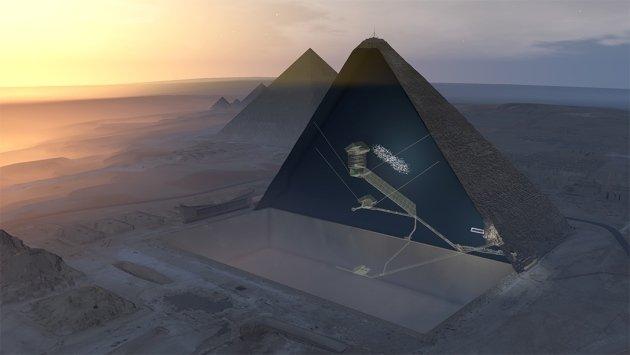 big void pyramide de Kheops scan pyramids