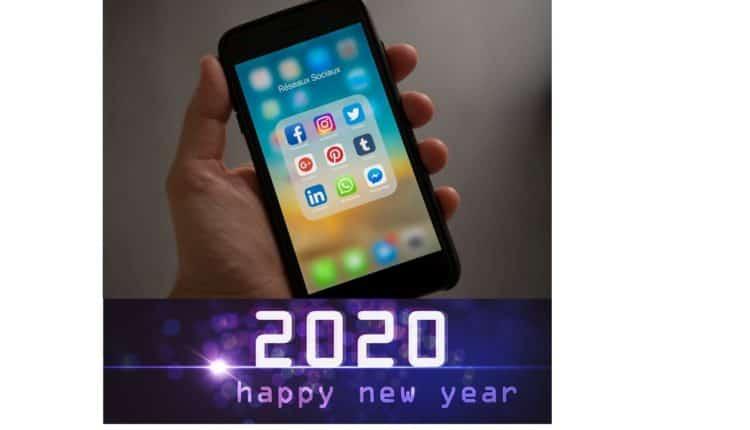 Bonne année 2020 avec les stars des réseaux sociaux