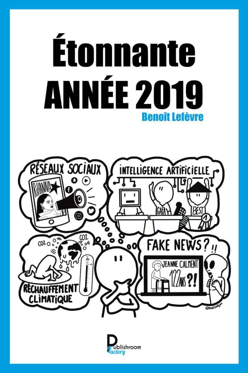 livre Étonnante Année 2019 le livre