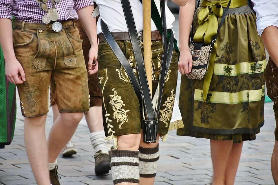 Culotte de peau : costume bavarois