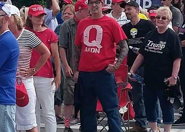 QAnon supporters