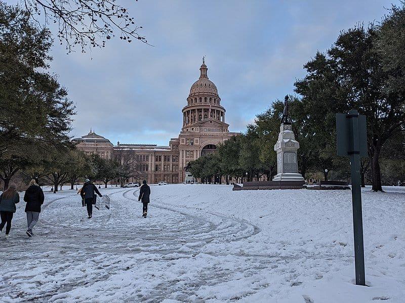 neige Texas