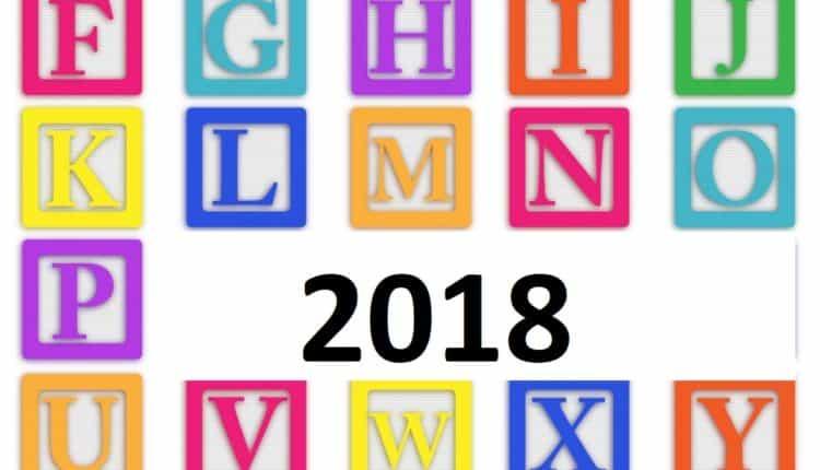 alphabet de 2018