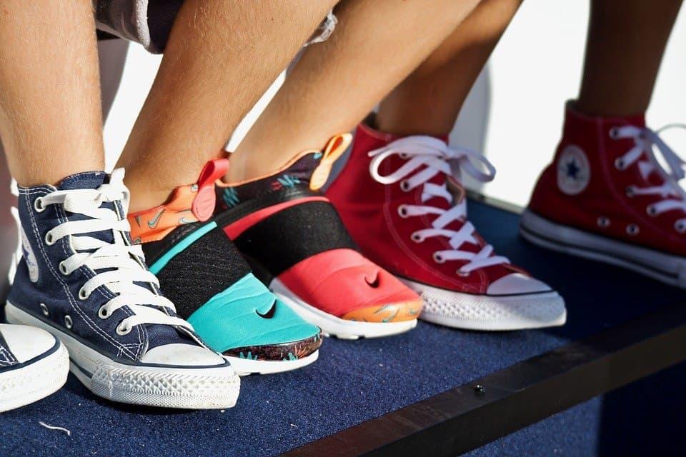 Baskets Converse Nike