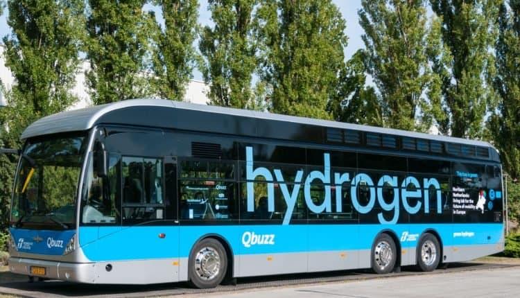 bus à hydrogène vert