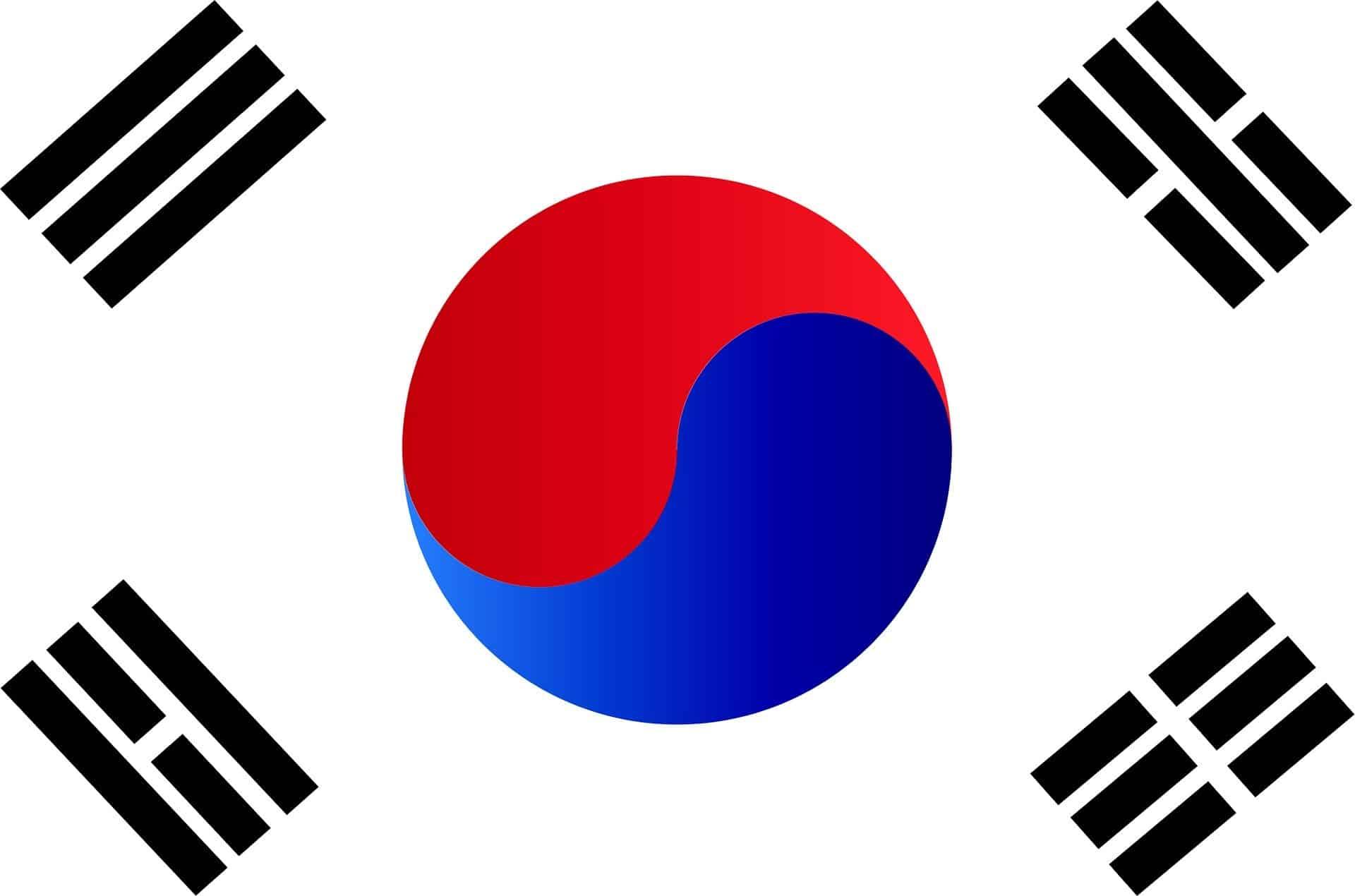 drapeau coréen coronavirus