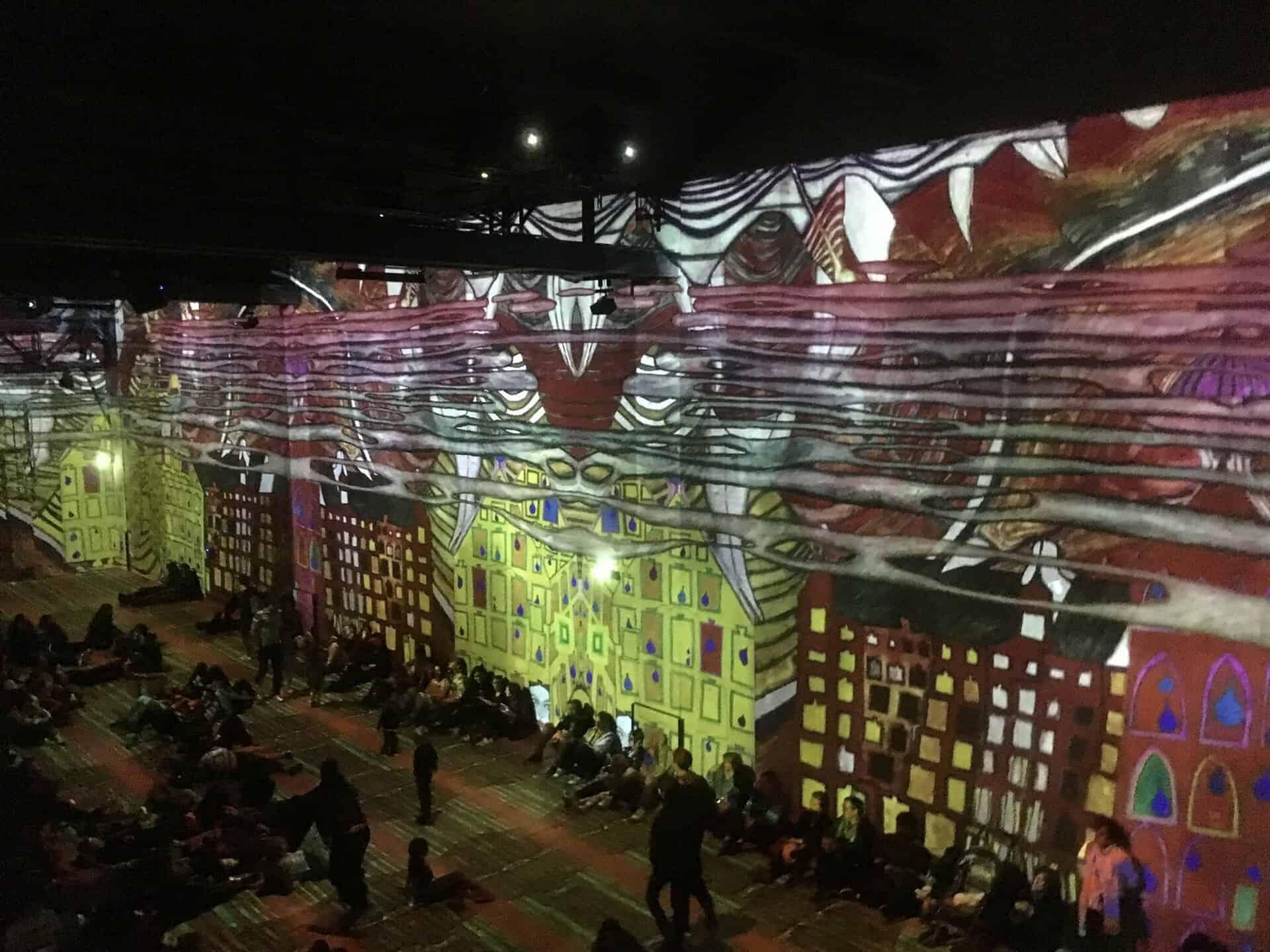 Atelier des lumières Hundertwasser