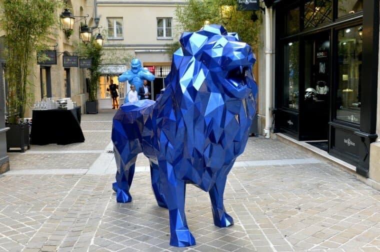 Le lion d'Orlinski
