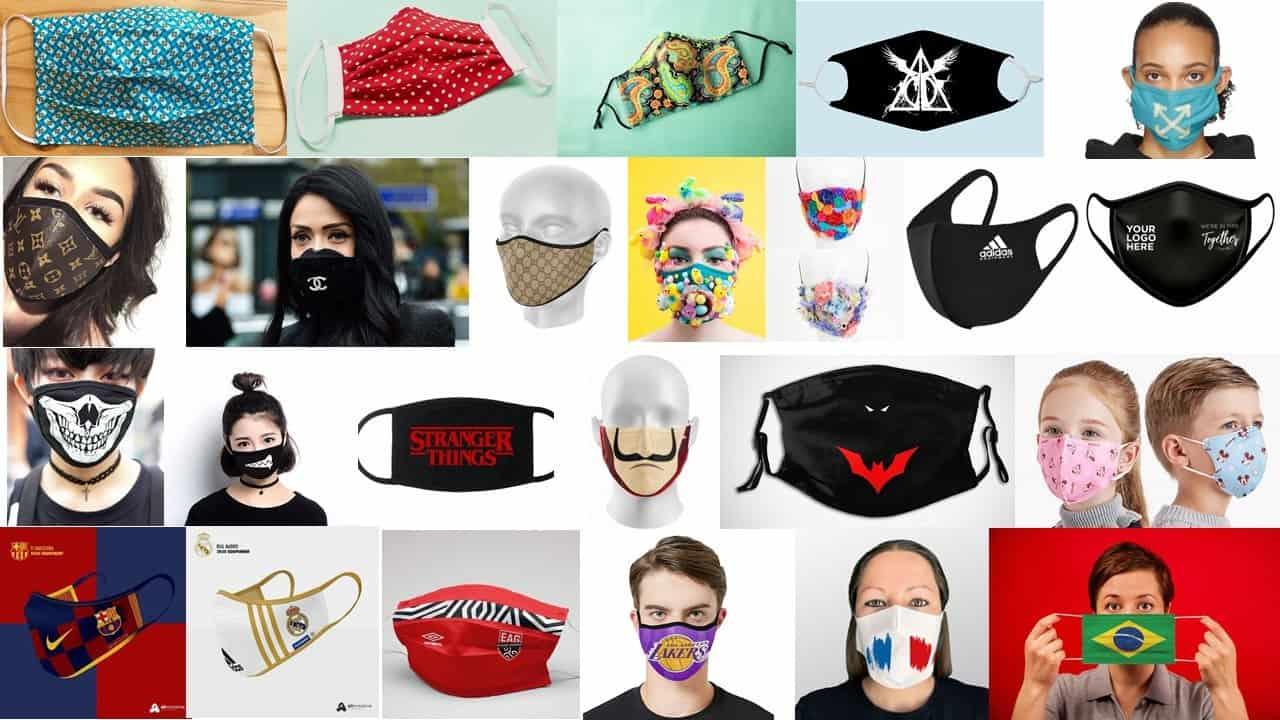 masques mode