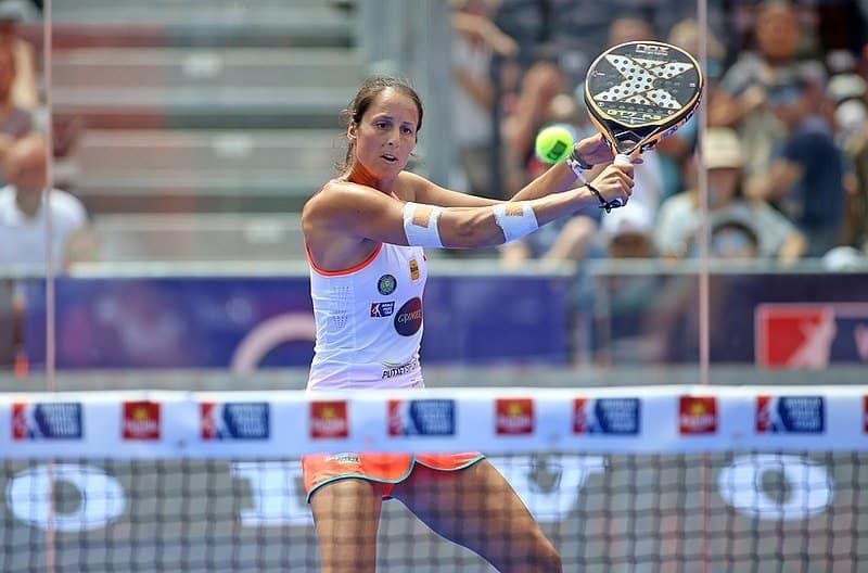 championne padel tennis
