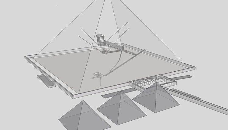 pyramide Khéops réalité virtuelle
