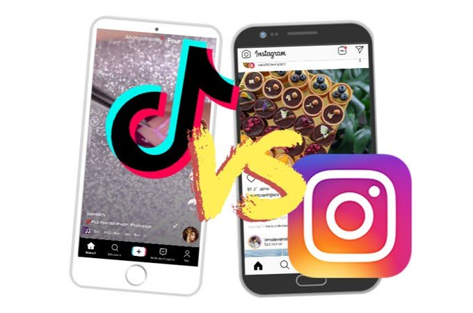 tik tok vs Instagram